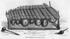 African Marimba Black And White Image